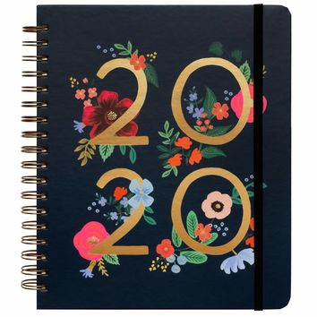 RIFLE PAPER CO. 2020 WILD ROSE SPIRAL BOUND PLANNER