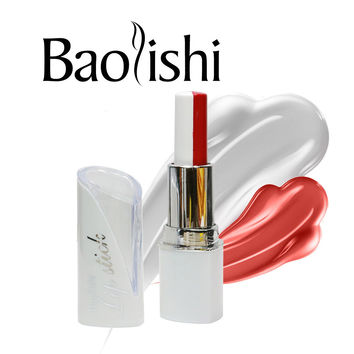 baolishi mix two color matte lipstick long lasting lip balm black color tint nude lip gloss beauty urban brand makeup cosmetic