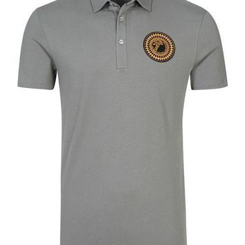 VERSACE COLLECTION Poloshirt / T-shirt V800753S VJ00180 grey 100% Cotton