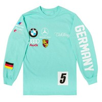 ONETOW Club Foreign Long Sleeve T Shirt German Series - Mint