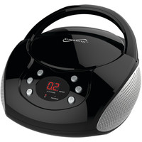 Supersonic Bluetooth Portable Audio System With Cd Player (black)