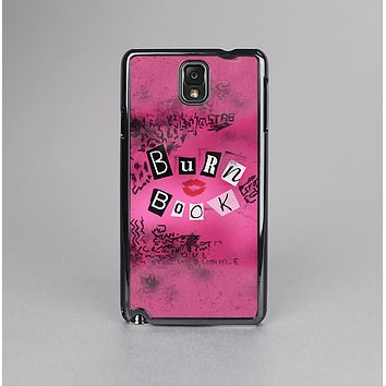 The Burn Book Pink Skin-Sert Case for the Samsung Galaxy Note 3