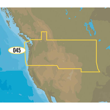 C-MAP MAX NA-M045-SD US Lakes - Northwest SD Format