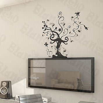Vine Tree - Large Wall Decals Stickers Appliques Home Decor