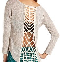 CAGED BACK HACCI TUNIC