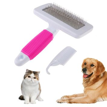 Grooming Brush With Needle
