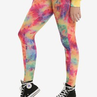 Blackheart Tie Dye Leggings