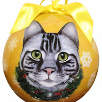 Cat Christmas Ornaments