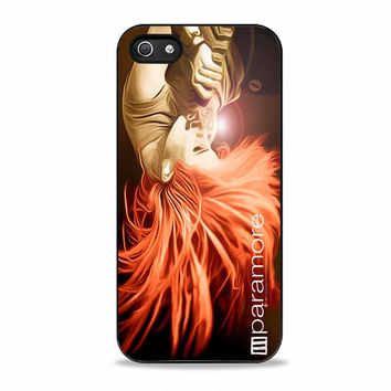 Paramore Hayley Williams Flaming Hair actress band Iphone 5S Cases