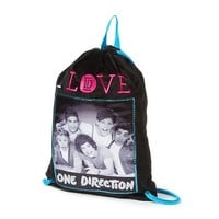 I Love One Direction Drawstring Gym Bag  | Claire's