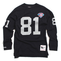 Tim Brown Los Angeles Raiders Name & Number Longsleeve Jersey Black