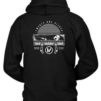 Twenty One Pilots Skeleton Clique Hoodie Two Sided