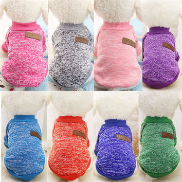 VMIPET Pure Classic Pet Dog Clothes Warm Winter Dogs Jacket Coat Cat Clothing Costume For Small Medium Dogs Pet DCK0453