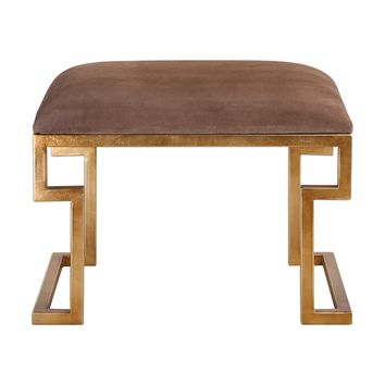 Lennon Small Leather Bench
