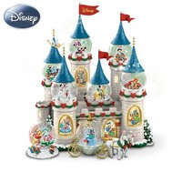 Disneys Christmas At The Castle Miniature Snowglobe Collection