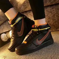 """""""Nike Air Force 1 x Givenchy"""" Unisex Sport Casual High Help Shoes Sneakers Couple Plate Shoes"""