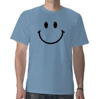 Happy Face Basic T-Shirt