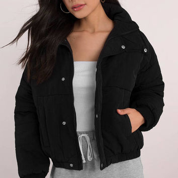 Primrose Button Up Puffer Jacket