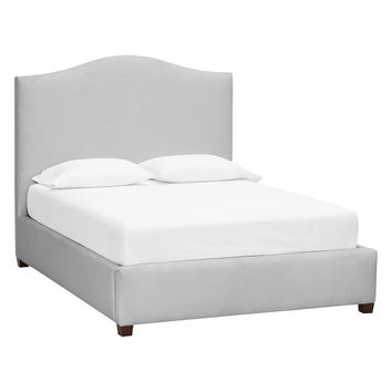Raleigh Camelback Upholstered Bed