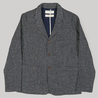 Universal Works Suit Jacket Grey Japanese Tweed