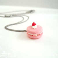 NEW: Cute Pastel Macaron Necklace