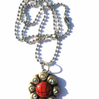 Basketball Necklace-Sookie Sookie