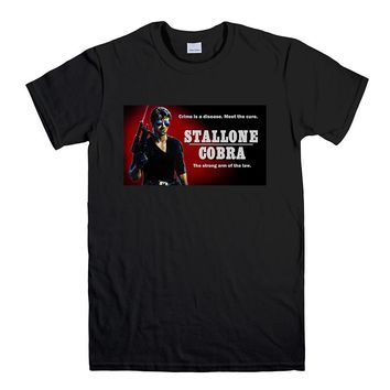 COBRA SYLVESTER STALLONE VINTAGE MOVIE 2 Men's T-Shirt