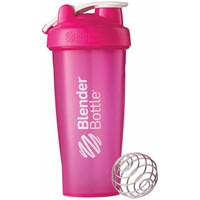 BlenderBottle 28-Ounce Classic Bottle with Loop, Full Color Pink - Walmart.com