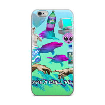 Vaporwave Seapunk iPhone 6/6s 6 Plus/6s Plus Case