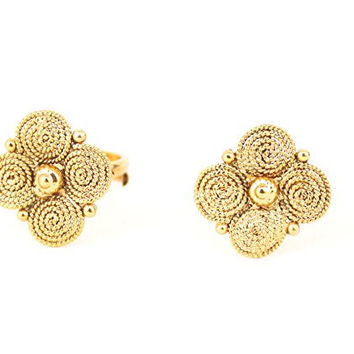 Indian Ethnic Bridal Adjustable Gold Plated Toe Ring Bollywood Jewelry