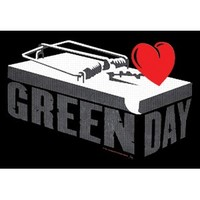 Green Day Poster Flag - Flags & Tapestries - Posters/Wall Art - Rockabilia