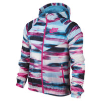 Nike Windrunner Flight Allover Print Girls' Jacket