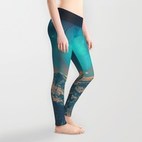 Made For Another World Leggings by Soaring Anchor Designs