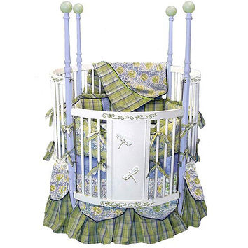 Dragonfly Dreams Round Crib