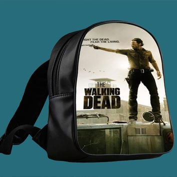 The Walking Dead Design for Backpack / Custom Bag / School Bag / Children Bag / Custom School Bag *