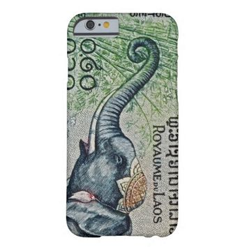 """Laos Elephant Stamp"" Photo iPhone 6 Case"