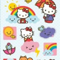 Hello Kitty Standard Stickers