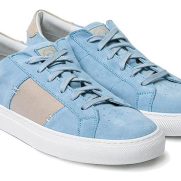 The Royale x Orley - Light Blue Suede