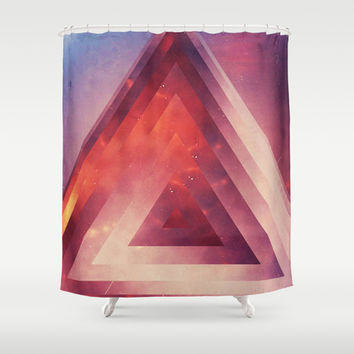 Triangled Too Shower Curtain by DuckyB (Brandi)