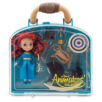 Disney Animators' Collection Merida Mini Doll Play Set 5'' New with Case
