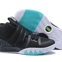 Online Nike Kyrie S1 Hybrid Black White Teal - Beauty Ticks