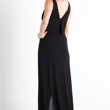 A.L.C. Hillseth Maxi Dress in Black
