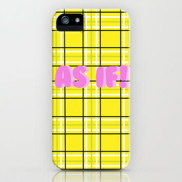 Clueless iPhone & iPod Case by Stephanie Ross