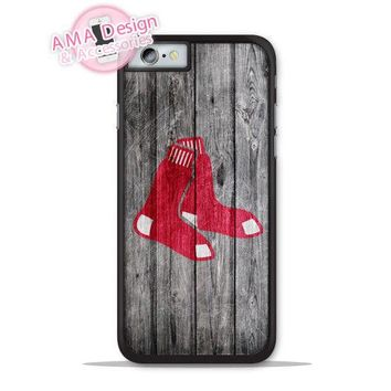 Boston Red Sox Baseball Case For iPhone X 8 7 6 5 5c Galaxy S8 S7 S6 Edge Plus
