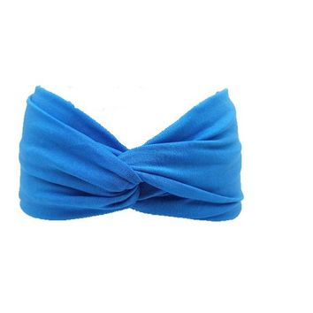 Bows Elastic Sport Hairbands
