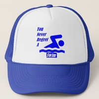 Swim Logo Trucker Hat