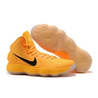 Nike Mens Hyperdunk 2017 Elite Yellow/Black Basketball Shoes