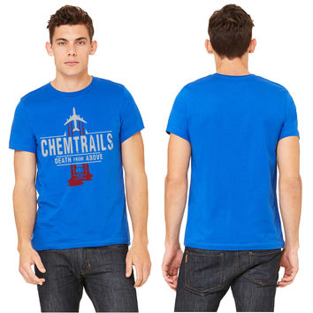Chemtrails-Black-Red Logo T-shirt