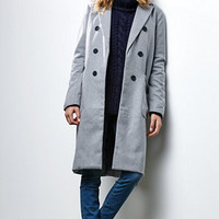 Renamed Faux Wool Peacoat at PacSun.com