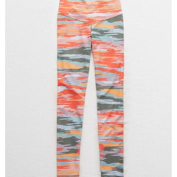 Aerie Play Real Me High Waisted 7/8 Legging, Pink Clay